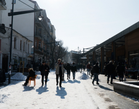 зимен живот на женски пазар