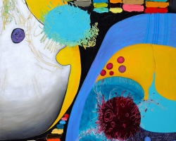 004 All or Nothing, 115 x 73 cm, oil on canvas, 2020